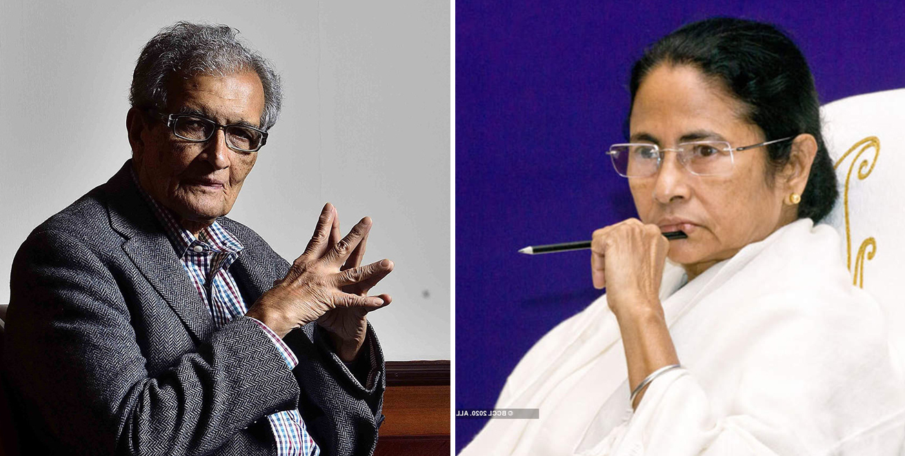 Your strong voice has given me strength writes Amartya Sen to Mamata