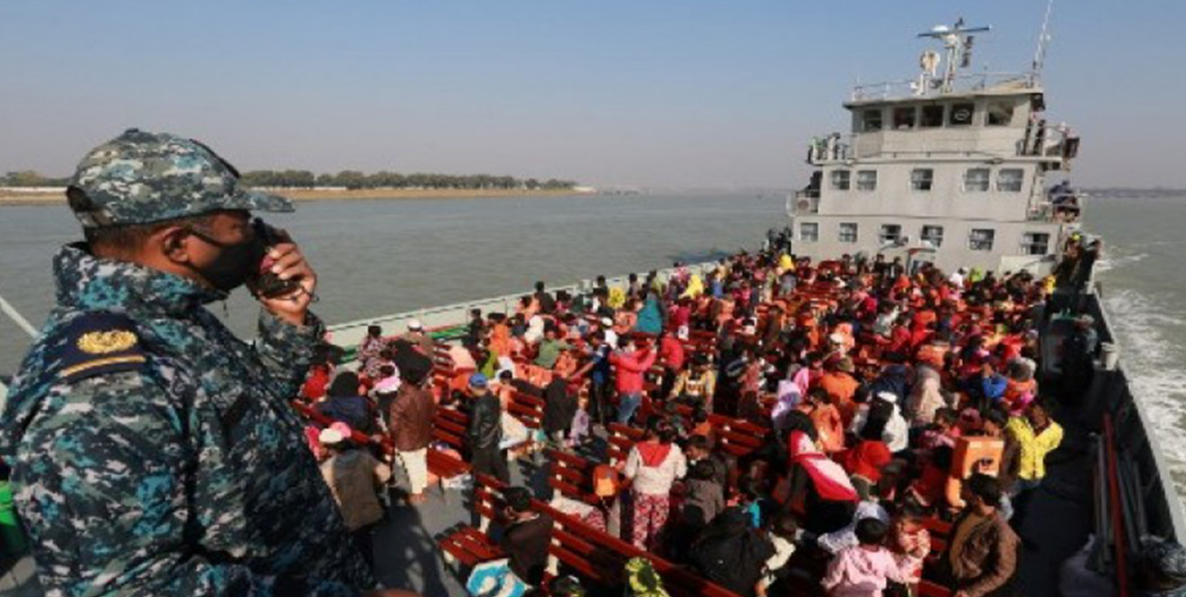 1804 more Rohingyas people relotated to Bhasan Char Island
