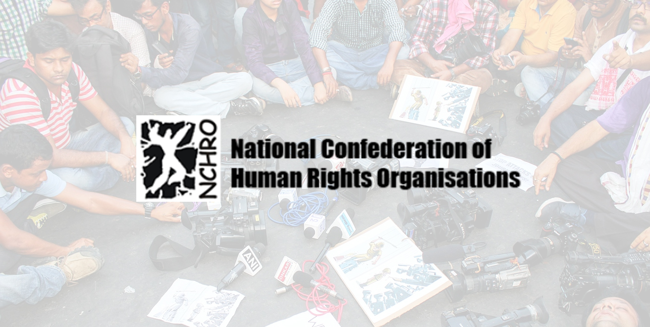 NCHRO condemns the slapping of various charges including sedition on journalists and others