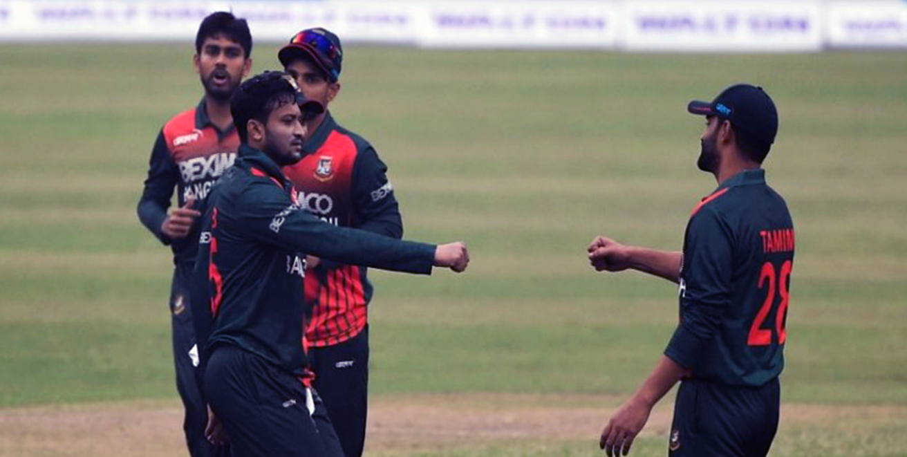 Bangladesh beat West Indies by six wickets