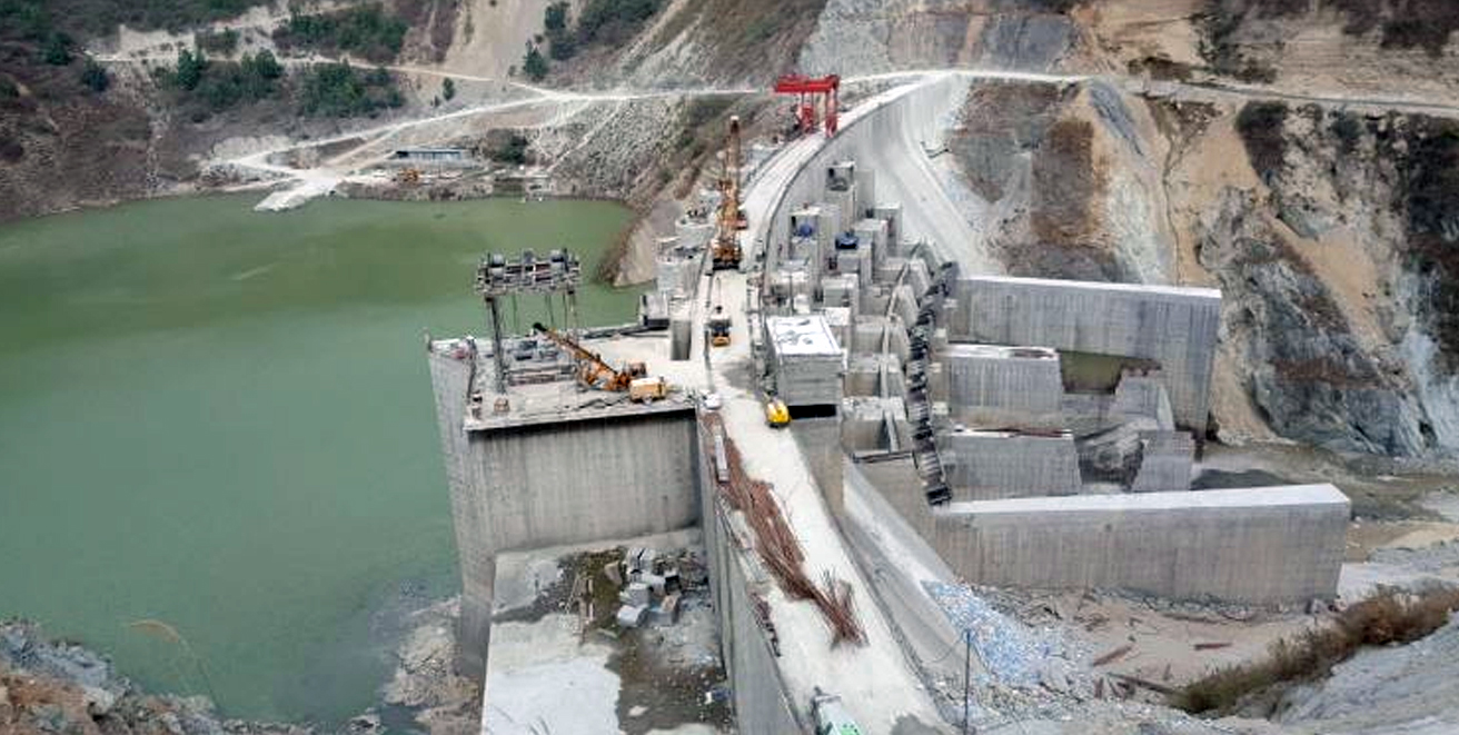 North East's largest 600 MW Hydro Power Plant of NEEPCO synchronizes its last unit.