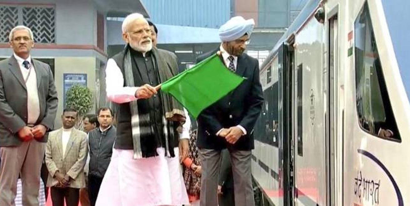 Unprecedented work done in the last few years to modernise the railways: PM Modi