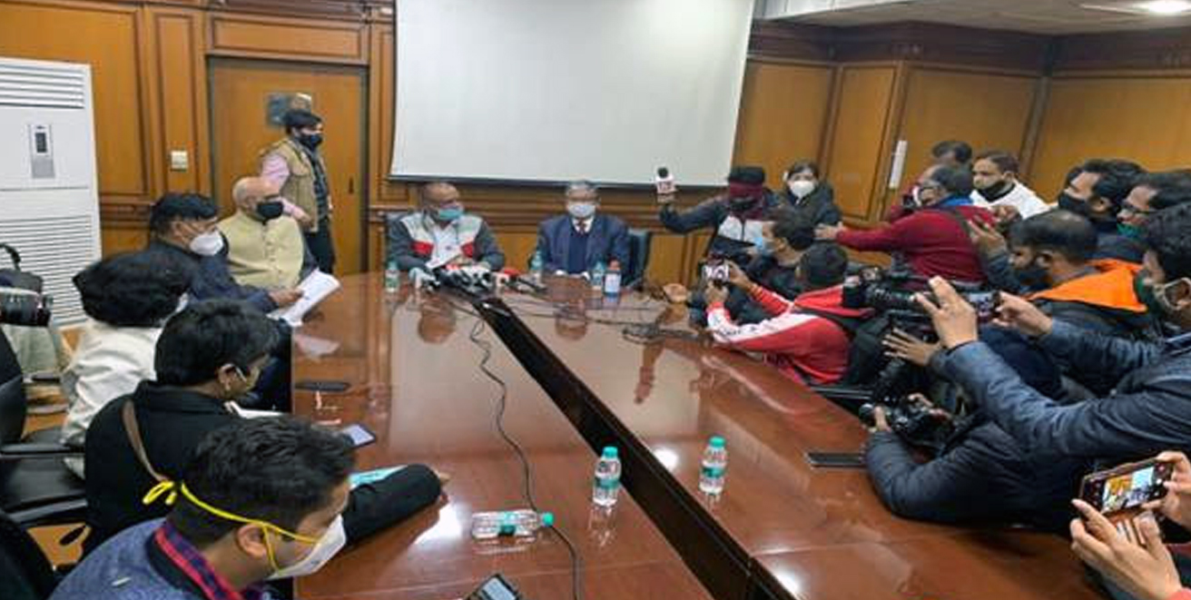 First meeting of Committee on Farm Laws appointed by Supreme Court held in New Delhi