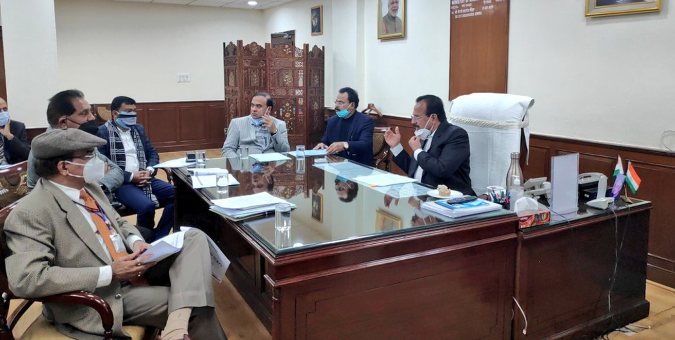 Union Minister for Chemicals & Fertilizers chairs meeting on upcoming Urea Plant at Namrup