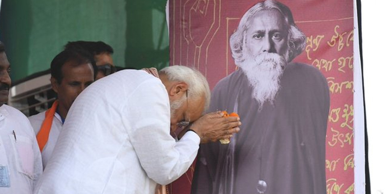 Tagore was proud of Bengal he was equally proud of India's diversity: PM