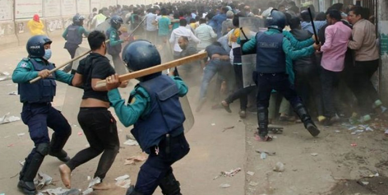 Bangladesh Police thwart BNP's protest rally against decision to remove Ziaur Rahman's gallantry award
