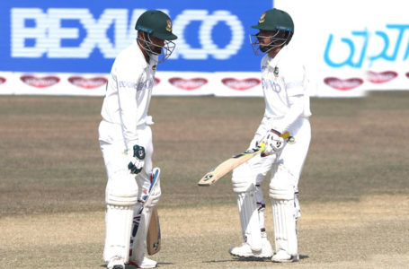 Bangladesh need seven more wickets on final day