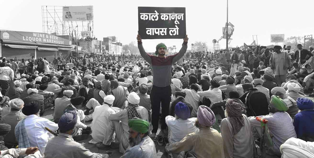 100th Days of World's LargestPeaceful Protests by Indian Farmers