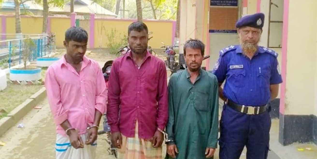 3 more held over attacking and vandalizing on Hindu houses in Bangladesh