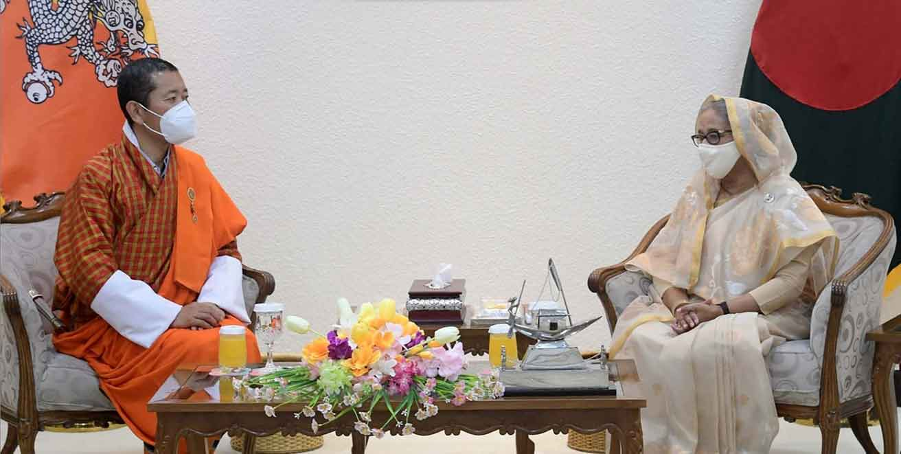 PTA with Bhutan: Hasina for constructing infrastructures to reap highest benefits