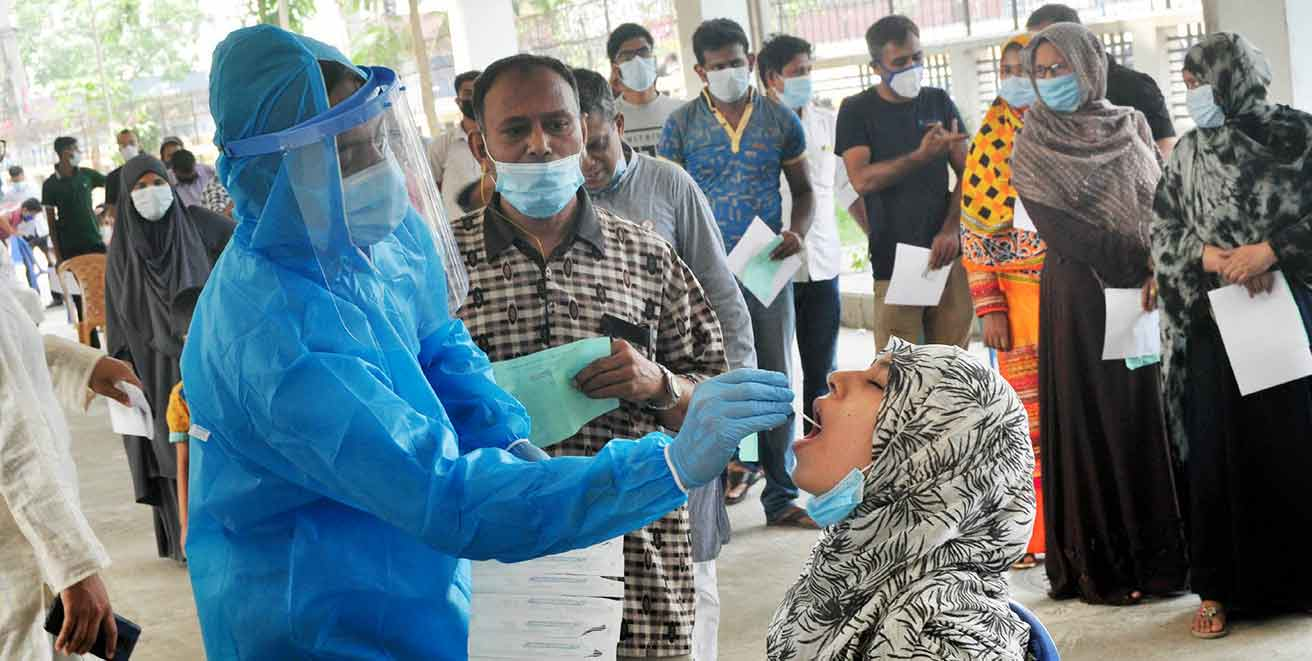 Bangladesh records highest ever 6469 Covid cases 59 deaths