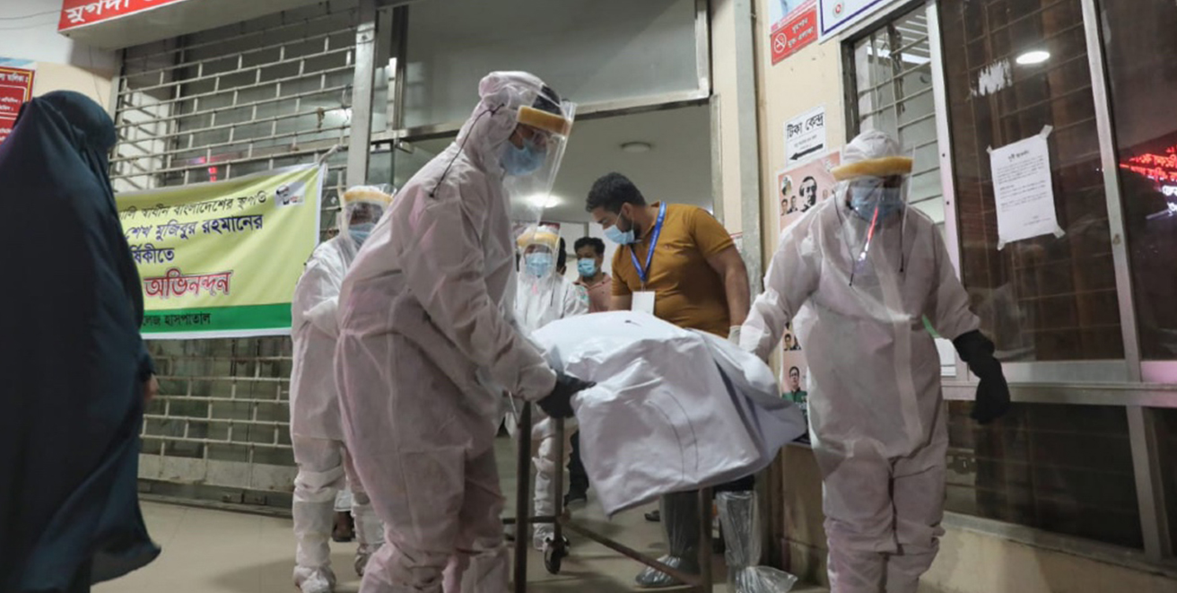 B'desh reports 101 Covid-19 deaths for second consecutive day