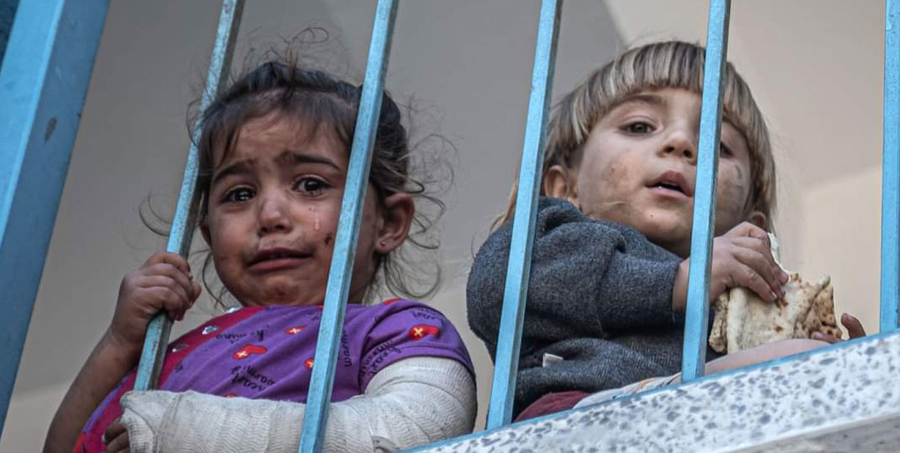 Why are the children of Gaza different from the rest of the children of the world