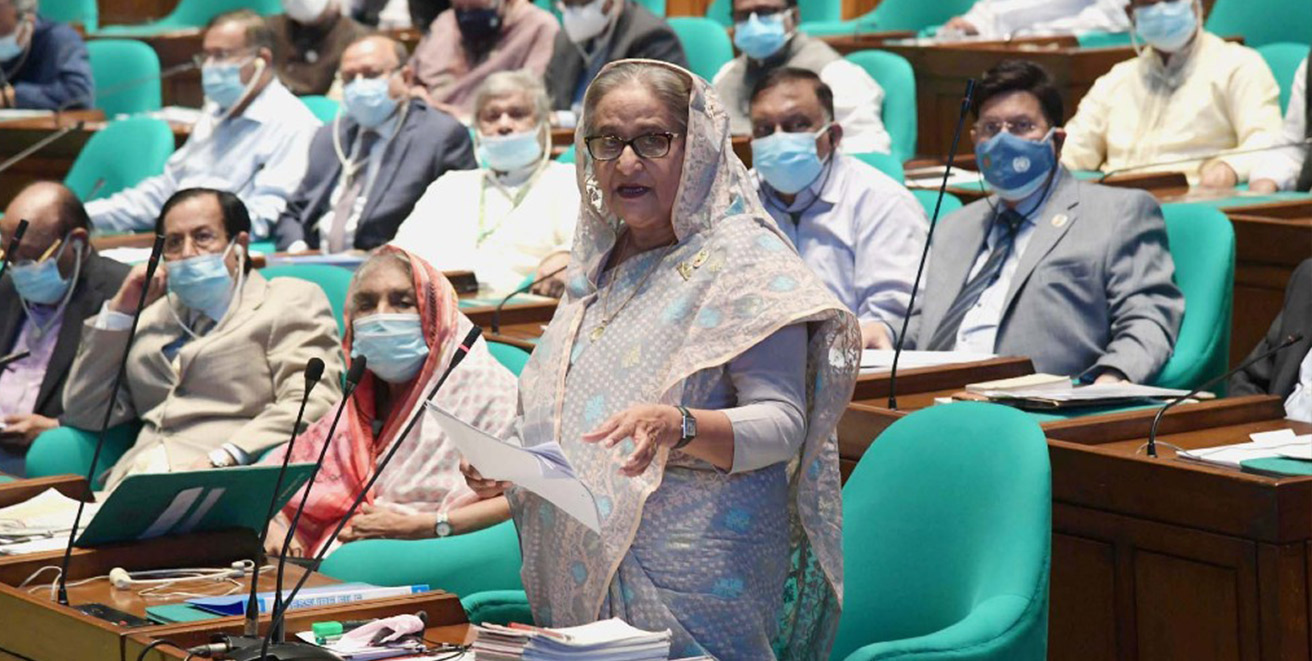 China is a trusted partner in Bangladesh's development : Hasina