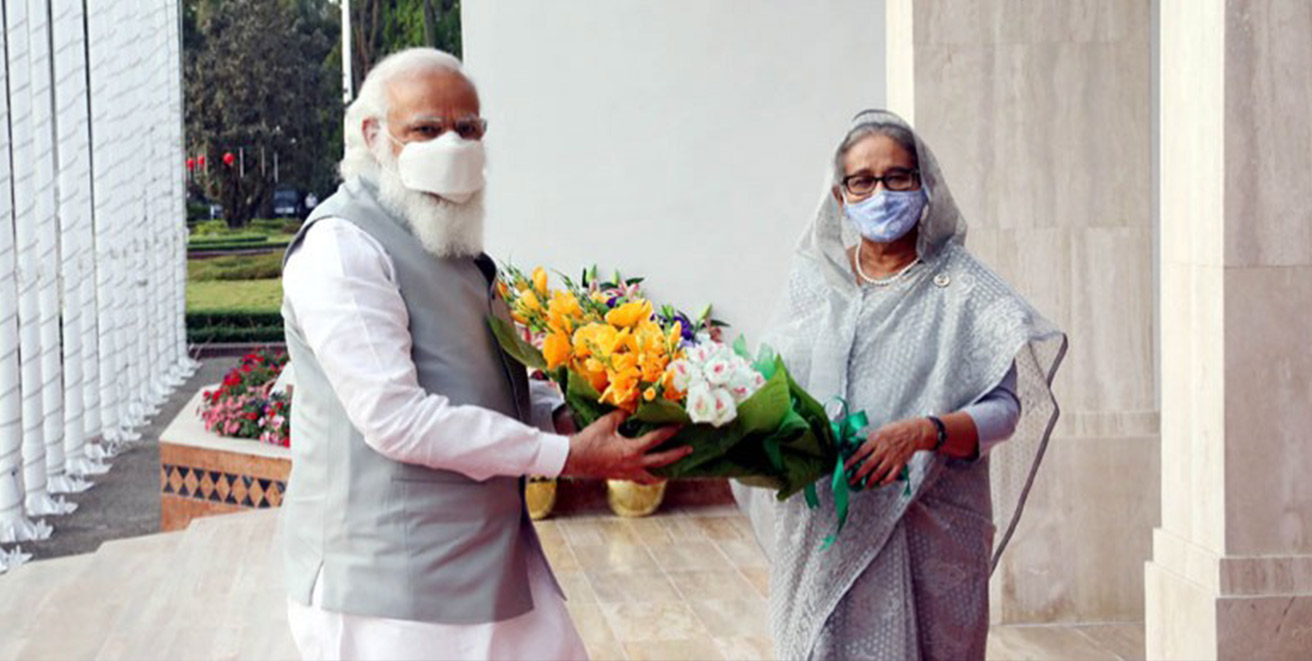 PM Modi thanks PM Hasina for the gift of mangoes