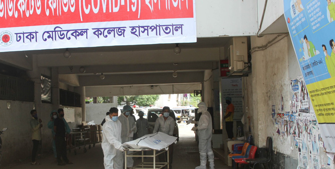 Bangladesh reports single-day highest 212 deaths from Covid